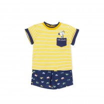 Yellow Stripe Shortie