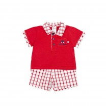 Red Gingham Shortie
