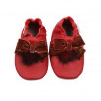 Red Velvet Pre-Walker Shoes