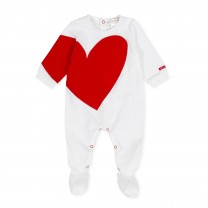 Heart Babysuit