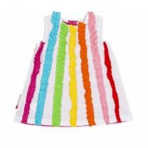 Rainbow Sleeveless Dress