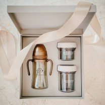 Cream Beige Grosmimi Gift Set