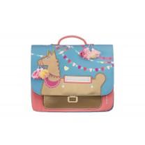 Blue Alpaca Mini Bag