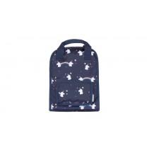 Navy Blue Unicorn Small Backpack