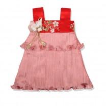 Red Faye Plum Dress