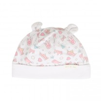 Gem and Tiara Printed Knit Hat