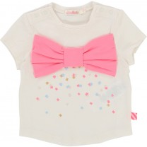 Ivory Bow Detail Tee