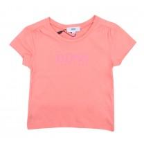Pink Jersey Logo T-Shirt