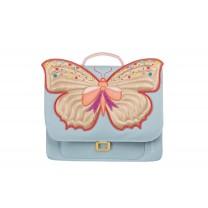 Light Blue Butterfly Mini Bag