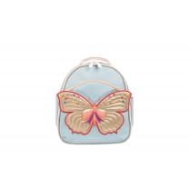 Light Blue Butterfly Mini Backpack