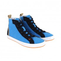 Turquoise Leather Trainers (36-40)