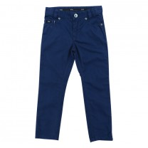 Blue Slim Fit Trousers