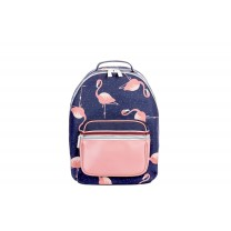 Blue Flamingo Backpack