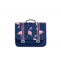 Blue Flamingo Midi Bag
