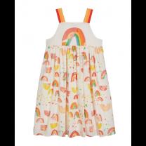 Paint Rainbow Cotton Dress