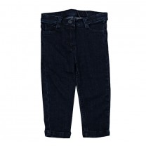 Navy Denim Trouser (For Boys)