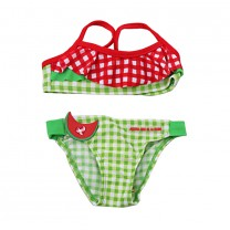Watermelon Checkered Bikini