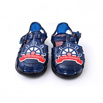 Navy Marine Jelly Sandals