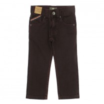 Maroon Slim Fit Jeans