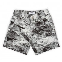 Stone Print Bermuda Shorts