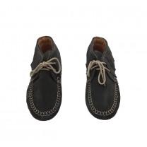 Black Apache Mocassin Boots