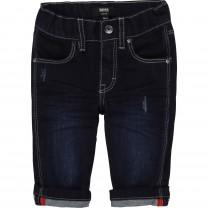 Blue Baby Denim Cuff Pants