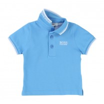 Blue Logo Polo Shirt (14-16 years)