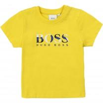 Baby Boy Yellow Logo T-shirt