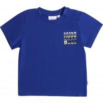 Navy Logo Cotton Baby T-Shirt