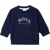 Navy Classic Baby Sweater