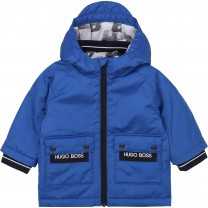 Electric Blue Baby Down Jacket