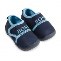 Navy & Blue Logo Shoes