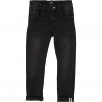 Black Washed Regular Fit Jeans