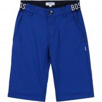 Blue Logo Shorts