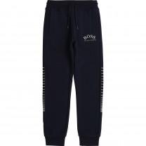 Navy Logo Jogger Pants
