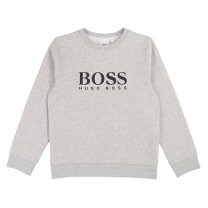 Grey Big Hugo Boss Branded Sweatshirt