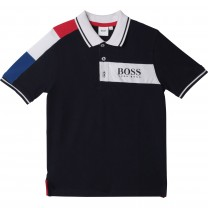 Navy France Polo Shirt