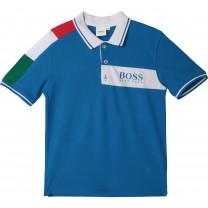 Blue Italia Polo Shirt