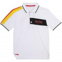 White Deutschland Polo Shirt