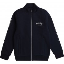 Classic Navy Logo Jacket