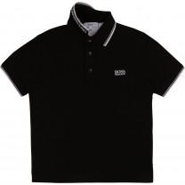 Black Classic Polo Shirt (14 -16 years)