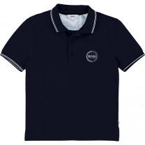 Black Boss Polo Shirt