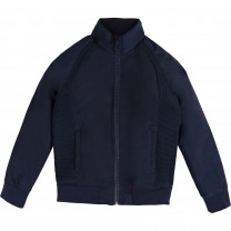 Navy Blue Plain Jacket