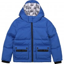 Electric Blue Down Jacket