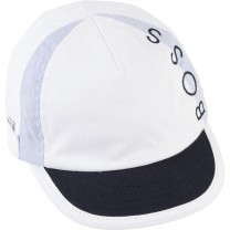 White Logo Baby Hat