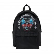 Black Kenji Elephant Backpack