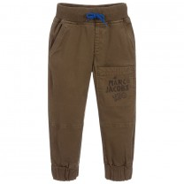 Green Khaki Cargo Trousers