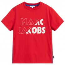 Red Logo Graphic T-Shirt