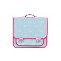 Light Blue Swan School Bag