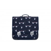 Navy Blue Unicorn School Bag